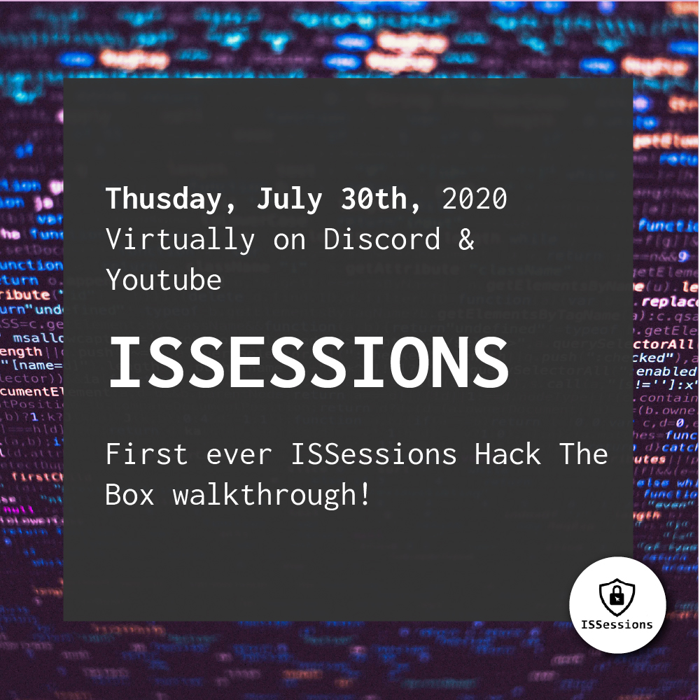 ISSessions – 2020-07-30